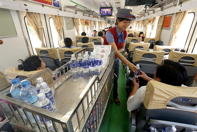 Bên trong đoàn tàu chất lượng cao Hà Nội - Lạng Sơn