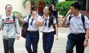 Nhiều trường ở TP HCM 50% học sinh rớt thi thử THPT quốc gia