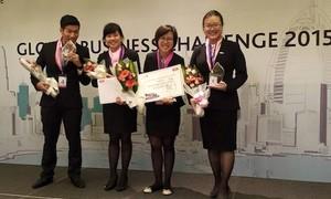Sinh viên RMIT Việt Nam giành giải nhất Thử thách kinh doanh toàn cầu