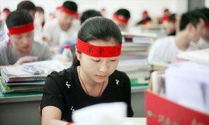 Gần 10 triệu học sinh Trung Quốc thi đại học