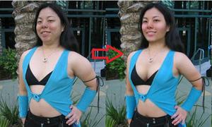 Những cô nàng bỗng 'chuẩn không cần chỉnh' nhờ photoshop (phần 2)