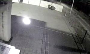 Vật thể bay bí ẩn gần giáo đường Do Thái ở Ukraine