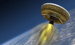 NASA phóng thử tàu vũ trụ giống đĩa bay