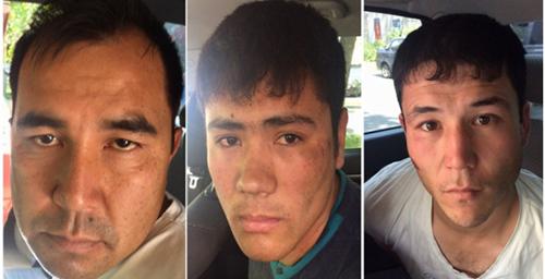 Ba nghi phạm trong vụ cướp doanh nhân Việtbị bắt giữ. Ảnh:petrovka38