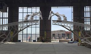Xây cầu qua kênh Amsterdam bằng công nghệ in 3D