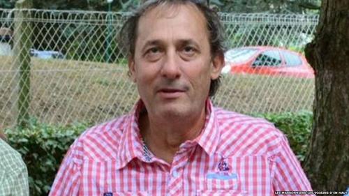 Herve Cornara, nạn nhân bị chặt đầu. Ảnh: BBC