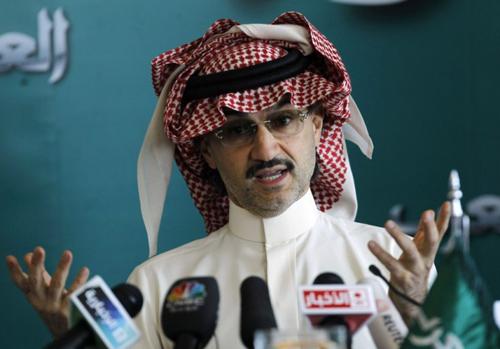 Hoàng tửAlwaleed bin Talal. Ảnh: Reuters