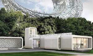 Dubai xây tòa văn phòng in 3D đầu tiên trên thế giới