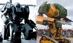 Lời thách thức giữa hai robot khổng lồ