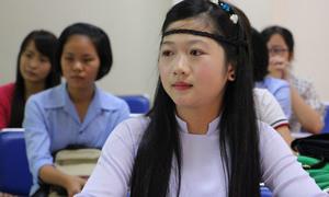 Những thí sinh xinh đẹp dự thi làm giáo viên mầm non