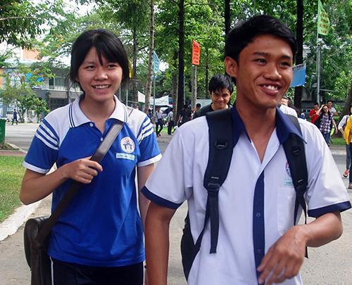 Môn Sử thi THPT năm nay có điểm 10 đầu tiên đến từ cụm Đại học Cần Thơ. Ảnh: Nguyễn Duy.