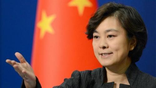 Phát ngôn viên Bộ Ngoại giao Trung Quốc Hoa Xuân Doanh. Ảnh: Presstv