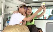 Vợ chồng Trấn Thành nhầm ôtô cấp cứu là siêu xe