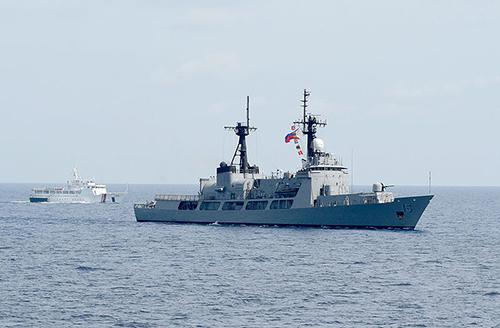 Tàu khu trụcBRP Gregorio del Pilar (PF-15) của Philippines. Ảnh: Wikipedia