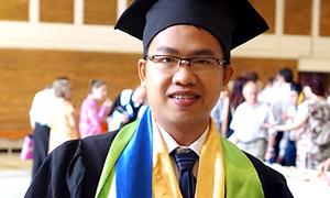 Du học sinh Việt đạt thủ khoa tốt nghiệp ở Romania