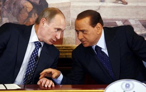 Putin và Berlusconi từ lâu đã là bạn bè