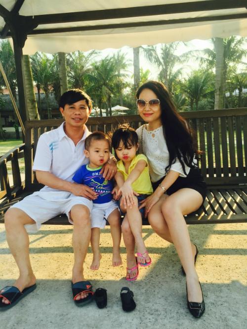 Gia đình chị Nguyễn Thị Ái Vân.