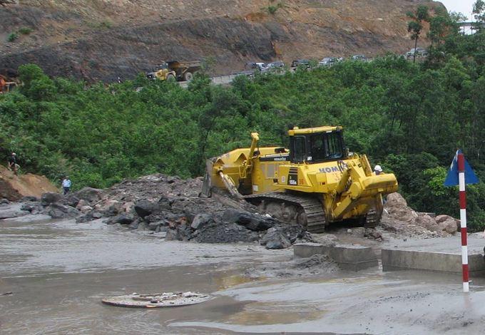 Quảng Ninh cứu đập 790, ngăn thảm họa lũ bùn xỉ than