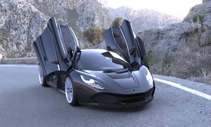 Wolf - siêu xe của người Nga giá 2,2 triệu USD
