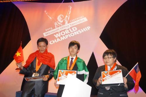 Huy chương đồng MS Word năm 2013 thuộc vềPhan Tiến Dũng.