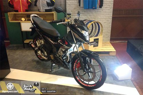Honda Sonic 150R giá từ 1.500 USD tại Indonesia.