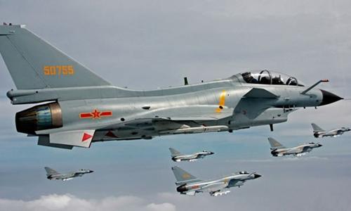 Chiến đấu cơ J-10 của Trung Quốc. Ảnh: defense-update.com.