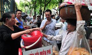 Những thứ miễn phí trên đường phố Hà Nội