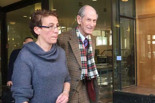 Ông Frail Victor Twartz tại tòa án Sydney. Ảnh: Mirror