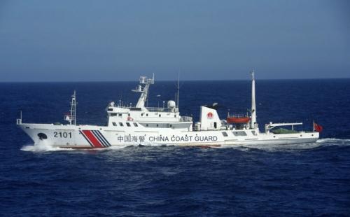 Một tàu tuần duyên Trung Quốc. Ảnh:news.usni