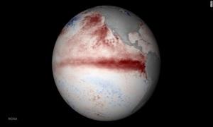 El Nino hoành hành ở mức kỷ lục trong năm 2015