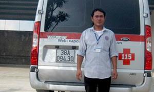 Thuê xe cấp cứu vượt hơn 350 km ra Hà Nội để rút hồ sơ