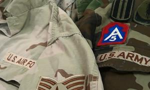 Gần trăm quân phục lính Mỹ trên máy bay về Việt Nam