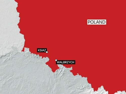 Tàu mất tích ở khu vực đông nam Ba Lan. Đồ họa: SkyNews