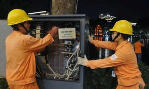 EVN Hà Nội đảm bảo nguồn điện trong ngày Đại lễ