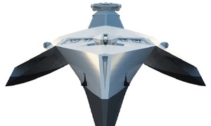 Anh thiết kế chiến hạm trong suốt điều khiển từ xa