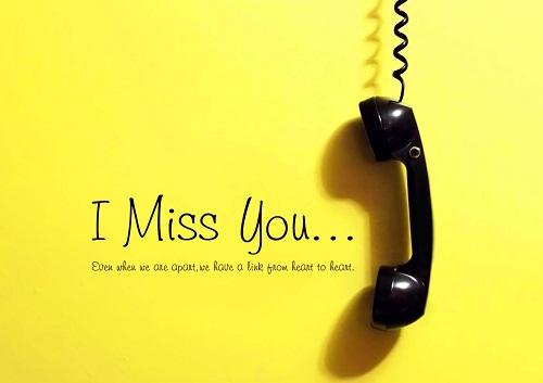 """""""Im counting the days until I see you again"""" là một cách nói ngọt ngào để bày tỏ bạn đang nhớ ai."""
