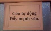 Những tấm biển 'bá đạo' chỉ có ở Việt Nam (phần 1)
