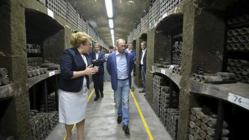 [Caption]he Massandra winery in Crimea