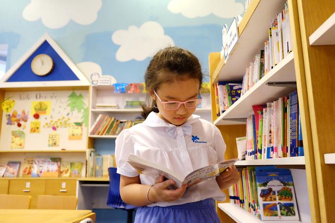 Thư viện 'thiên đường' của học sinh trường Ban Mai