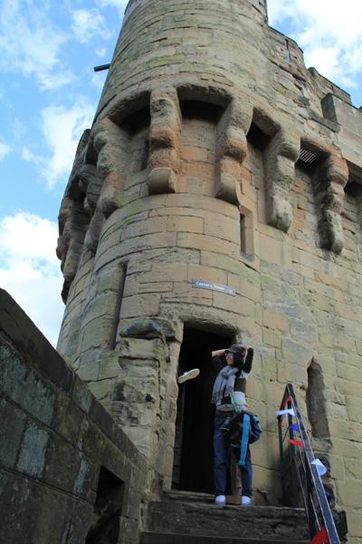 Lâu đài cổ ở Warwick