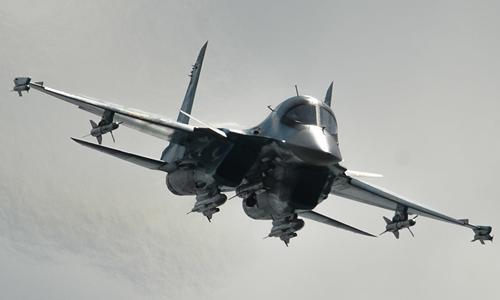 Sukhoi Su-34  Sukhoi Su-34, một trong những loại máy bay được cho là Nga sử dụng để không kích IS