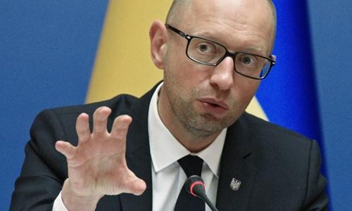 Thủ tướng Ukraine Arseny Yatsenyuk. Ảnh: RIA Novosti.