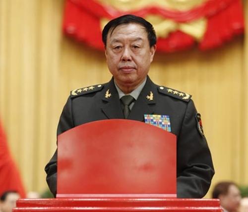 Phó chủ tịch Quân ủy Trung ương Trung Quốc Pham Trường Long. Ảnh: CNS.