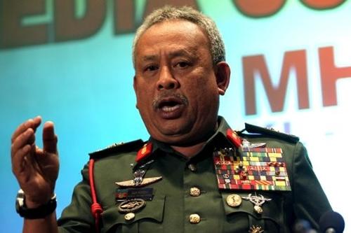 Ttư lệnh các lực lượng vũ trang Malaysia Zulkefli Mohd Zin. Ảnh: The Malaysian Insider.