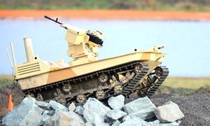 Robot Nga tự khai hỏa tiêu diệt kẻ địch