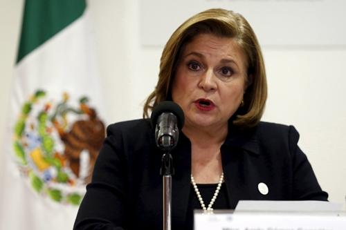Tổng công tố viên liên bang Arely Gomez. Ảnh: Reuters.