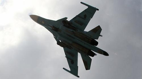 Chiến đấu cơ Su-34 của Nga. ẢNh: RIANovosti