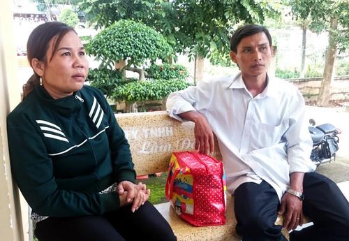 Bà Phạm Thị Thoa - mẹ Hào Anh sau phiên xử. Ảnh: Ngọc Ân