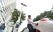 Trung Quốc lắp đèn đường phát sóng wifi