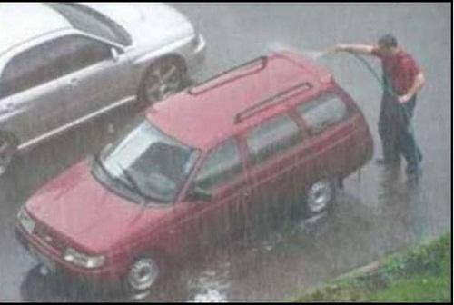 Một thời điểm thật tuyệt vời để rửa xe?